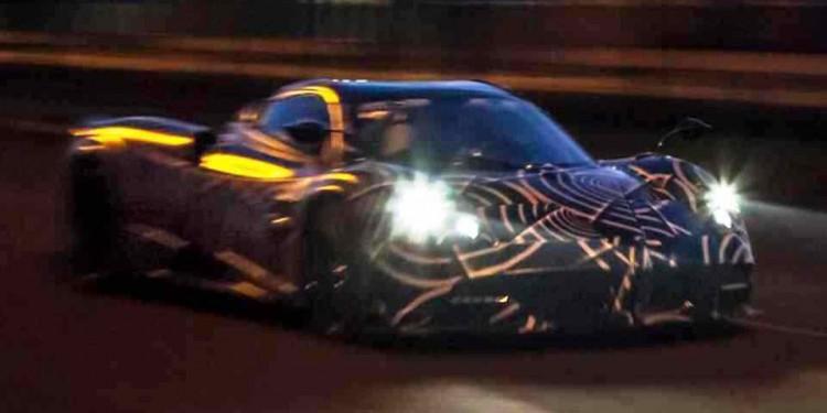 Pagani Huayra Roadster teaser 01