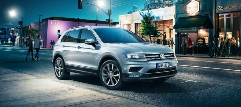 The All-new Tiguan - soon to be launched