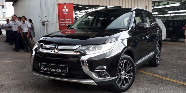 Mitsubishi Outlander CKD Launch 10