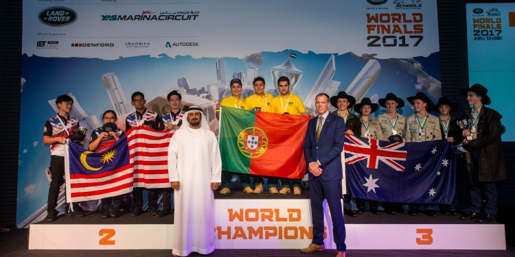 Winners podium [L-R TEAMS Panthera (Malaysia), K-EVO (Portugal) & Fair Dinkum 4x4 (Australia)_ Al Tareq Al Ameri, YMC_ Alex Heslop (1)