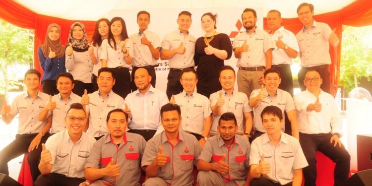 Management Team of Mitsubishi Motors Malaysia and Esperance Motors