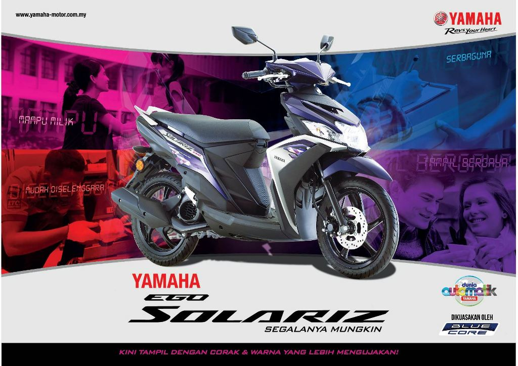 Yamaha Ego Solariz Hadir Dengan Pilihan Warna Baru Bagi