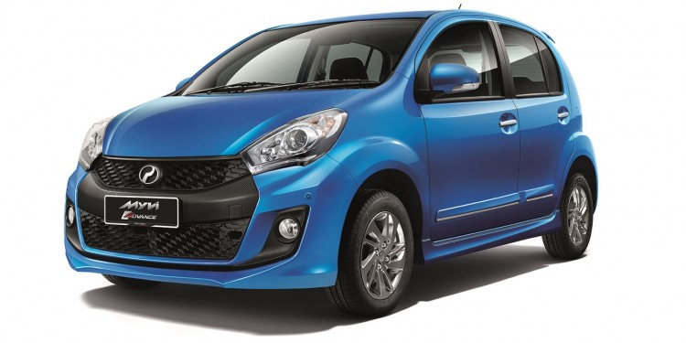 Second-generation Perodua Myvi 1