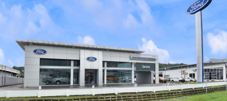 Ford KK Showroom exterior