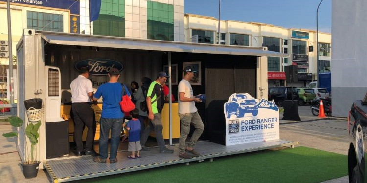 Ford Pop-Up Store 1