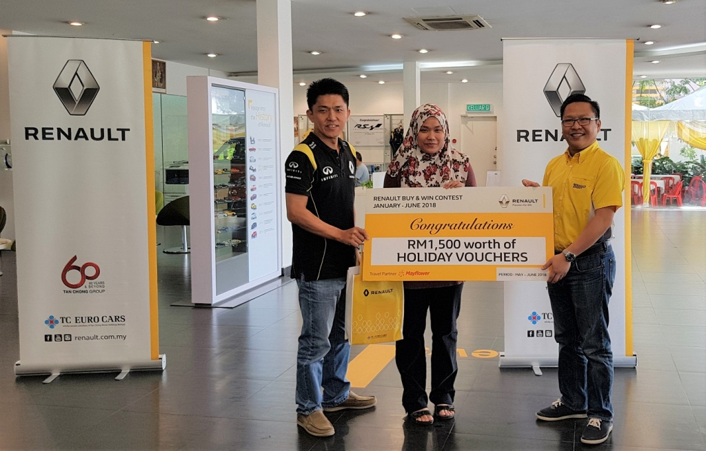 Holiday Prize Winner 1_Renault Buy & Win Final Round