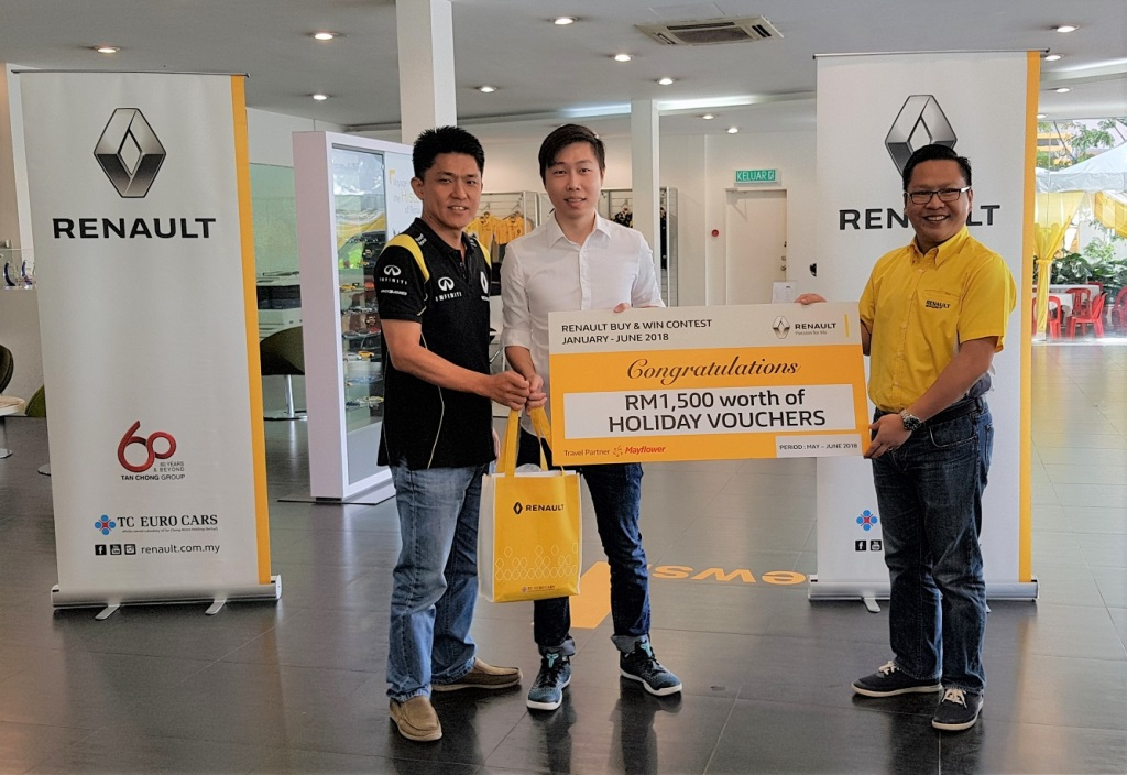 Holiday Prize Winner 2_Renault Buy & Win Final Round