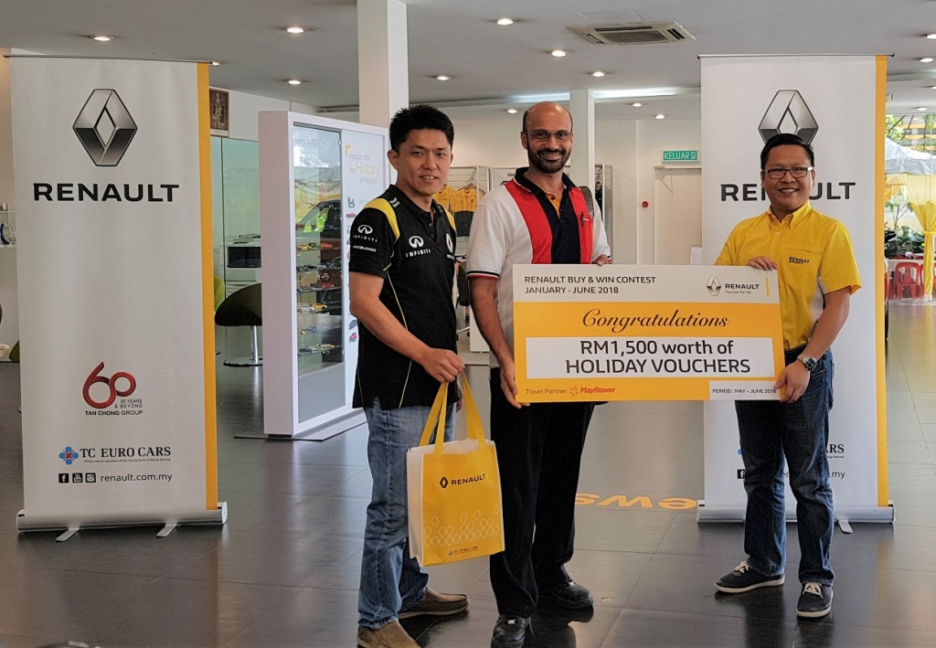 Holiday Prize Winner 3_Renault Buy & Win Final Round