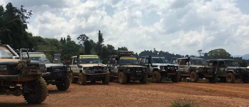 Rainforest Trophy 2_100 teams of 4x4 extreme sports enthusiasts tried to overcome obstacles in the Rainforest Trophy Malaysia 2018