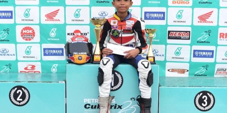 Aidil podium