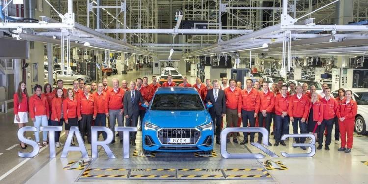Audi Q3 hungary