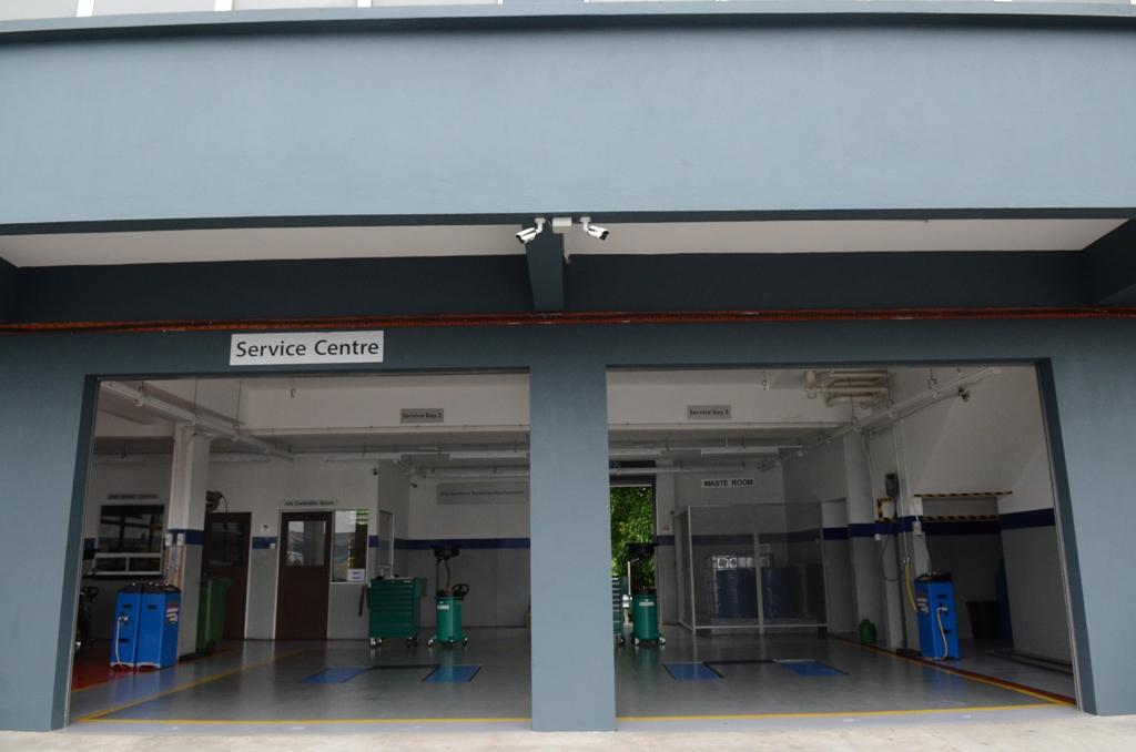 car service area
