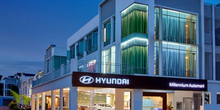 Millenium Automart  Hyundai 1S Showroom (Exterior)