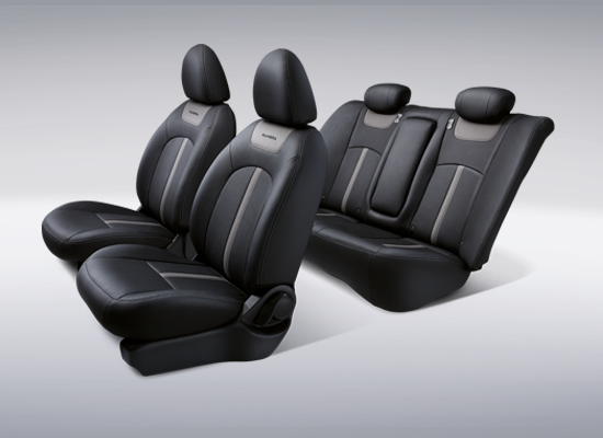 12 New Almera Black Series_Newly Designed Leather Seats