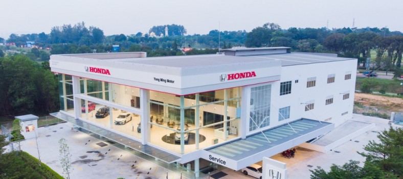 03 Yong Ming Motor Honda 3S Centre will be able to receive more customers at its 77000-square foot building