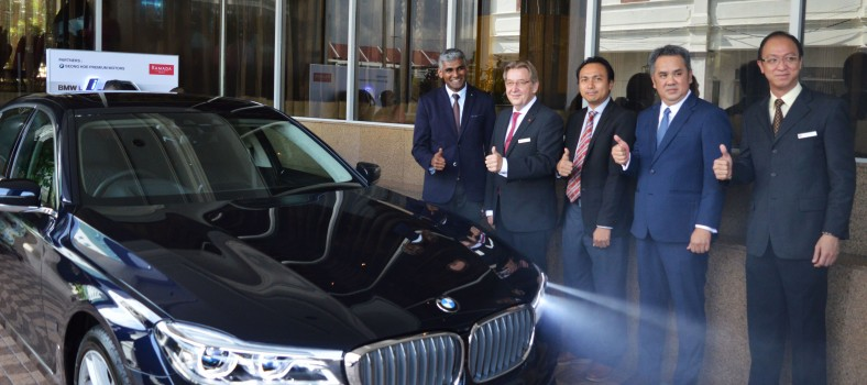 BMW i Charging Facilities at Ramada Plaza