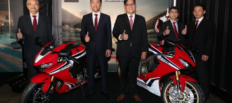 03 BSH top management with the CBR1000RR Fireblade SP