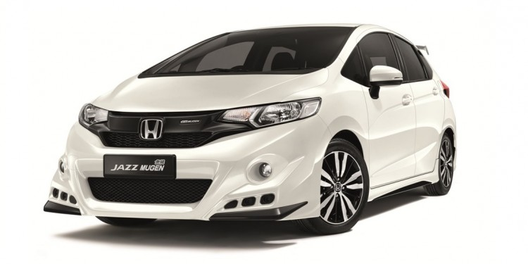 01 The Jazz is now fitted with an enhanced all-round Mugen body kit