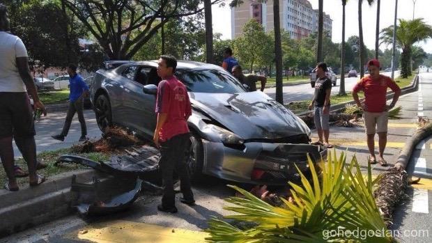 GTR Kemalangan 1
