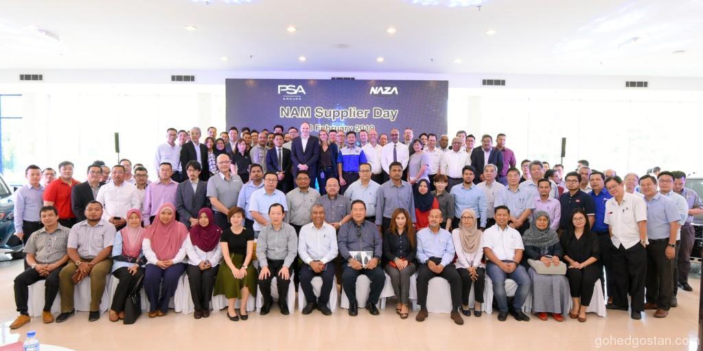 Pertama kali Groupe PSA dan NAM Hari Pembekal