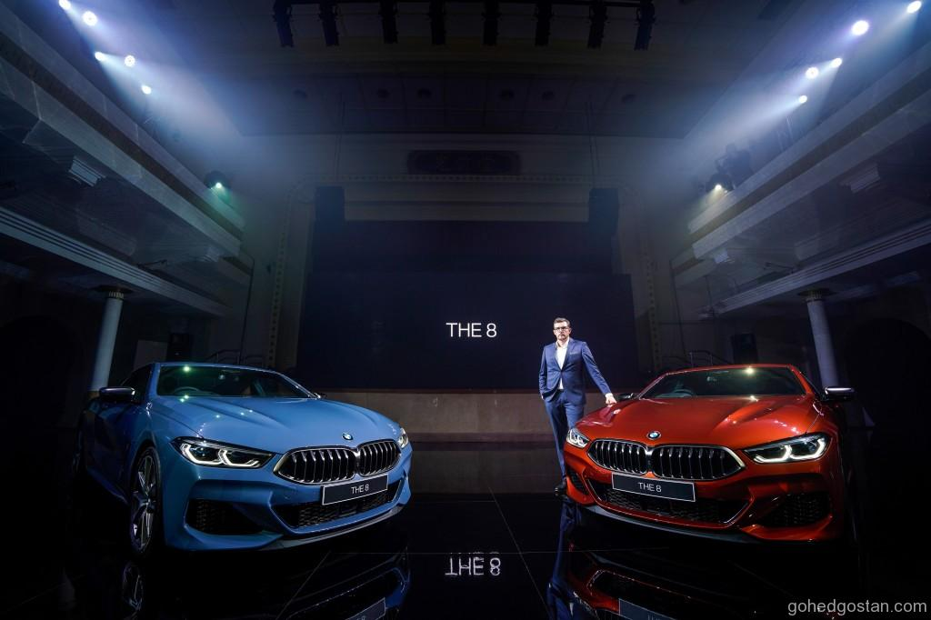 Harald Hoelzl, Managing Director of BMW Group Malaysia with The 8
