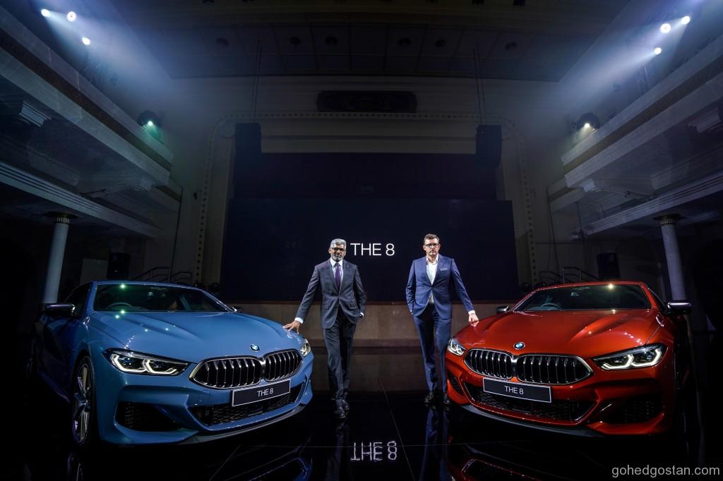 Left- Sashi Ambi, Head of Corporate Communications; Harald Hoelzl, Managing Director of BMW Group Malaysia