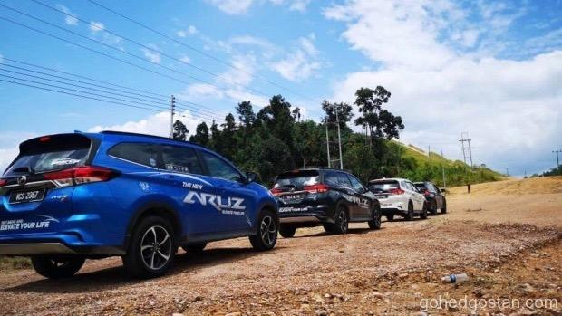 Perodua-Aruz-Borneo 1