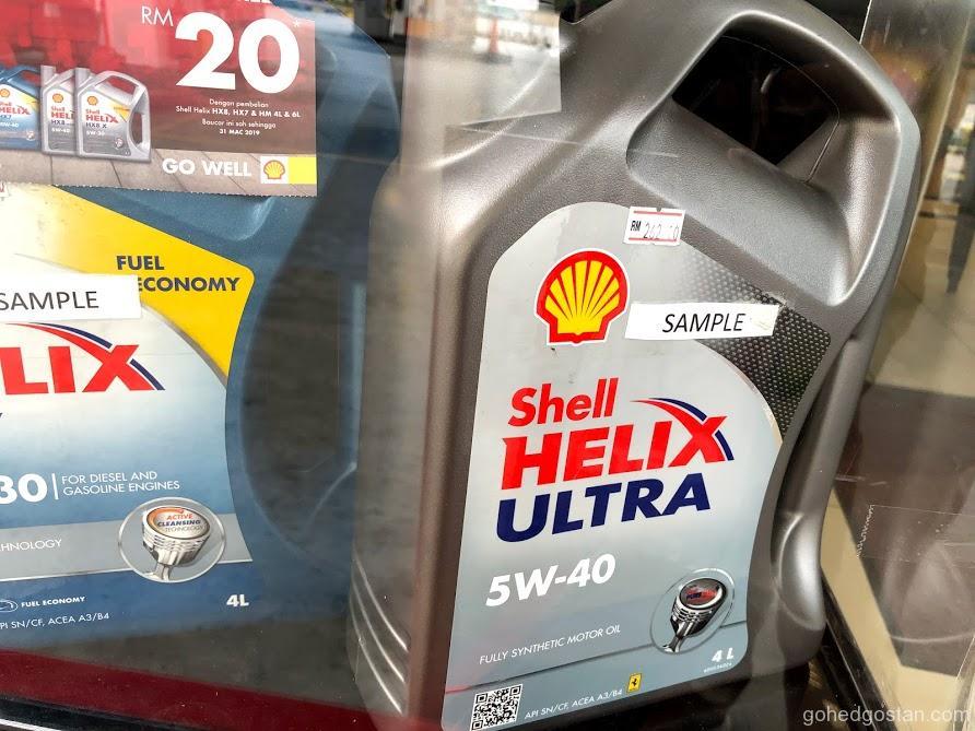 Shell Helix Tesco 2