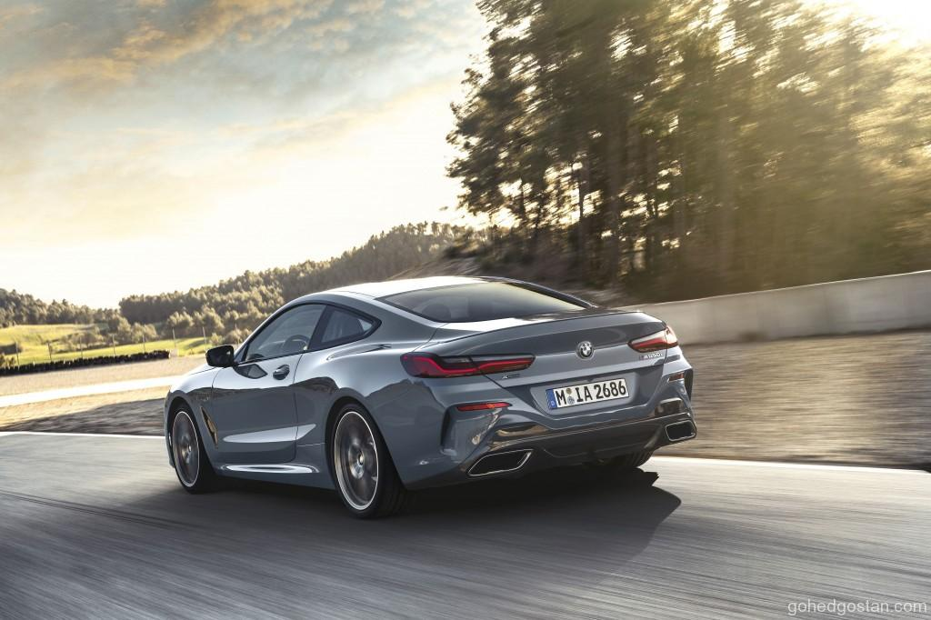 The BMW M850i xDrive Coupe (5)