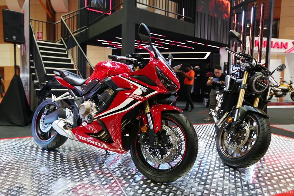 Honda Cbr650r Cb650r Dilancarkan Di Malaysia Autoshow 2019 Gohed