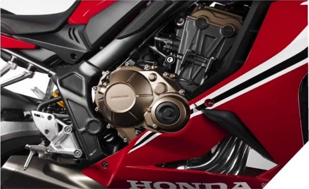 08 CBR650R_Four Cylinder Engine