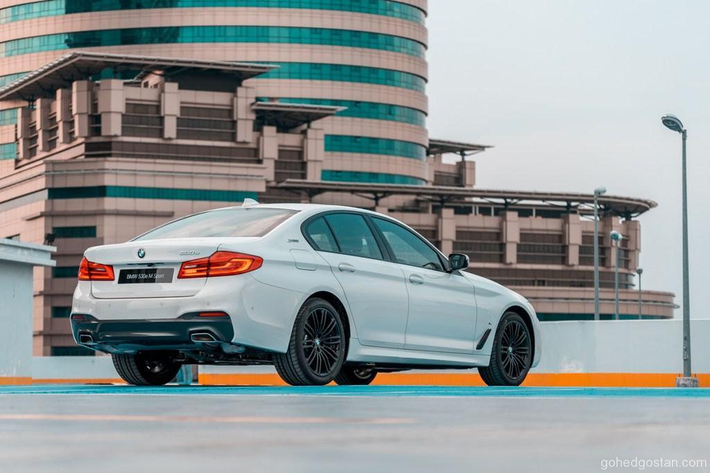 2. The New BMW 530e M Sport