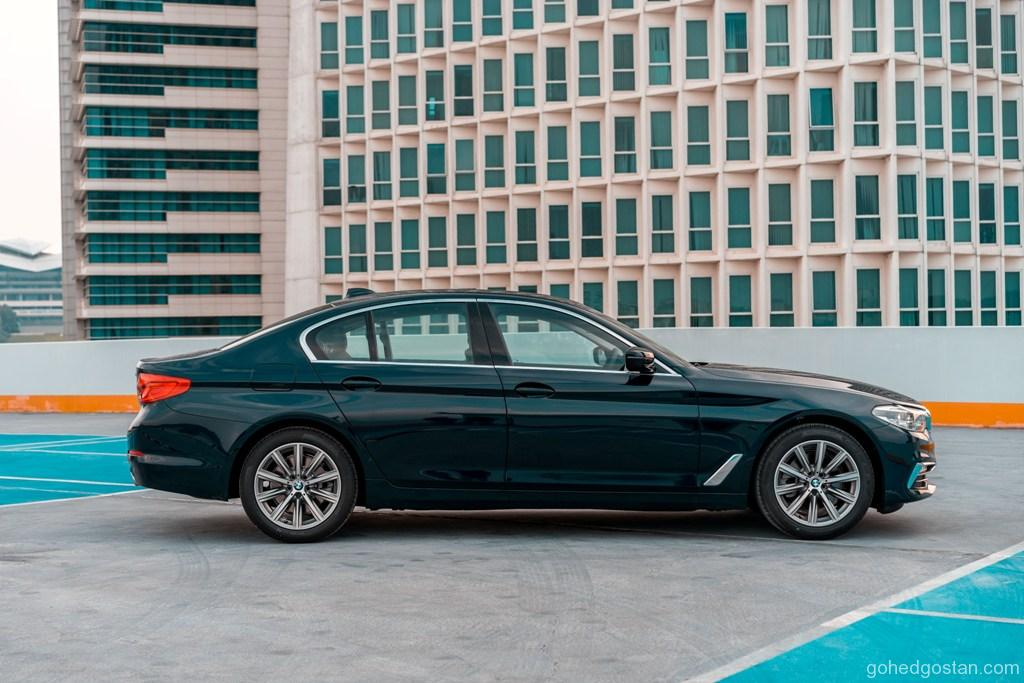 21. The New BMW 520i Luxury