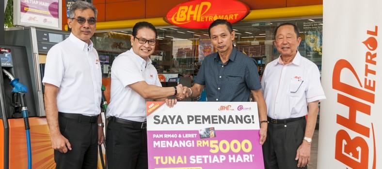 Pemenang BHPetrol RM5000 pertama