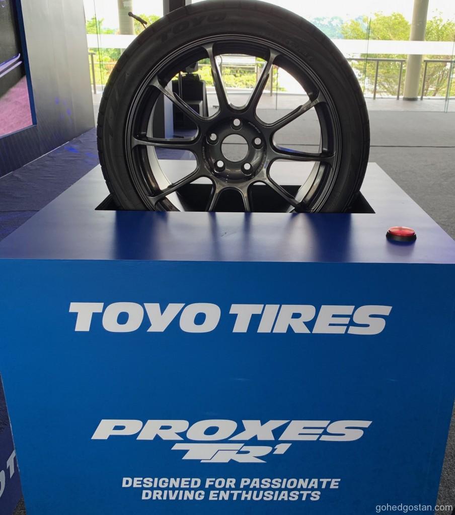 Toyo Proxes TR1 8.