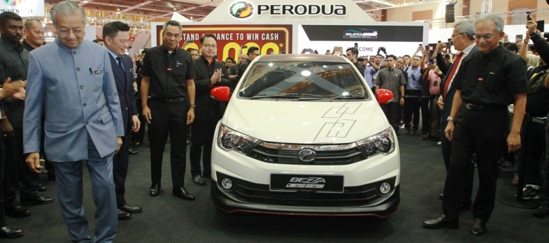 Perodua Bezza Limited Edition