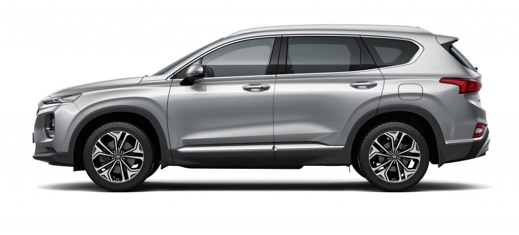 Exterior Hyundai Santa Fe (Side)