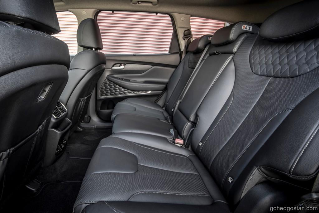 Interior Hyundai Santa Fe (Back)