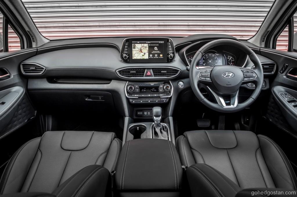 Interior Hyundai Santa Fe (Front)
