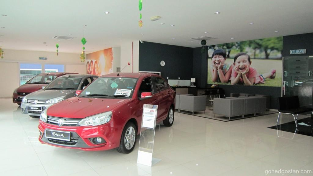 Setia Auto Drive showroom