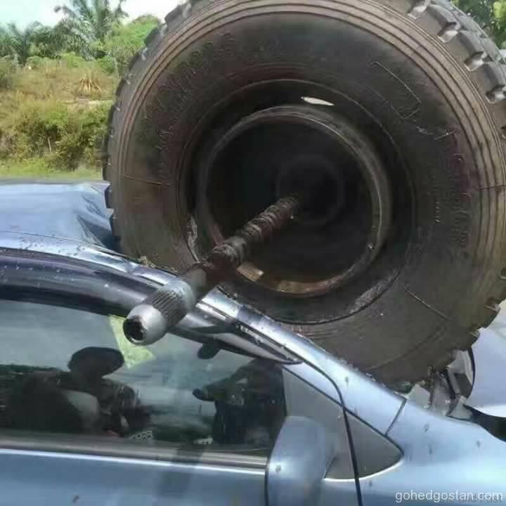 Tyre Accident 4