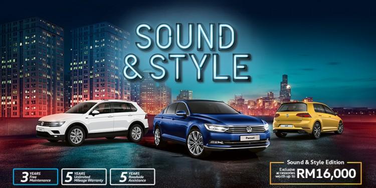 Volkswagen Sound & Style Range