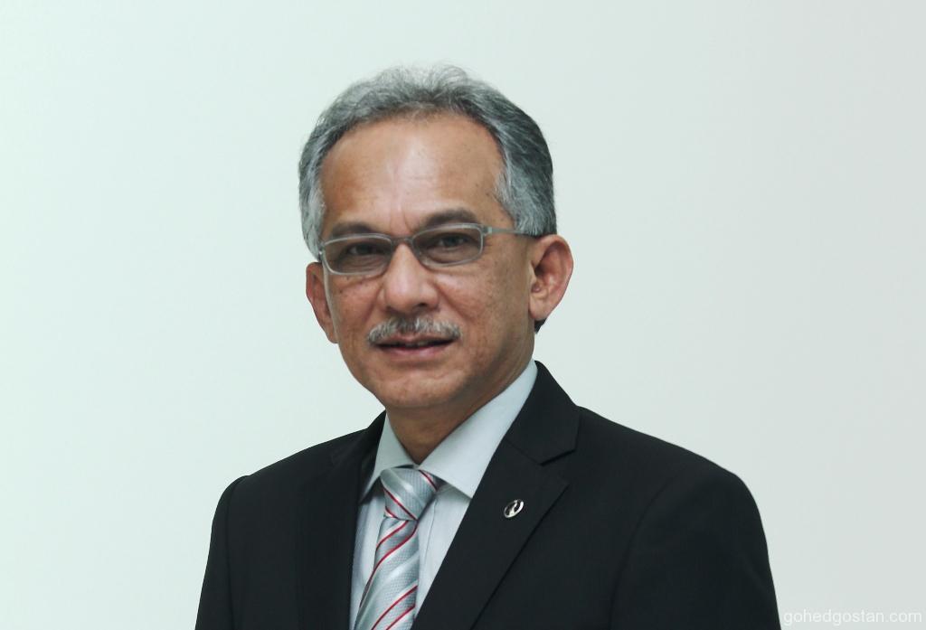 YBhg Datuk Ahmad Suhaimi Hashim, Perodua Auto Corporation Sdn Bhd Vice-President, also Perodua Safety Committee Chairman