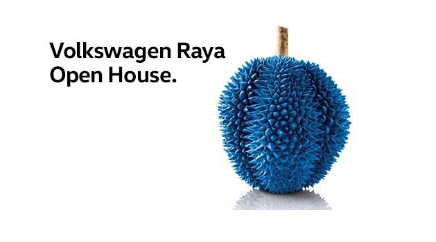 Blue Durian - Volkswagen Nationwide Raya Open House