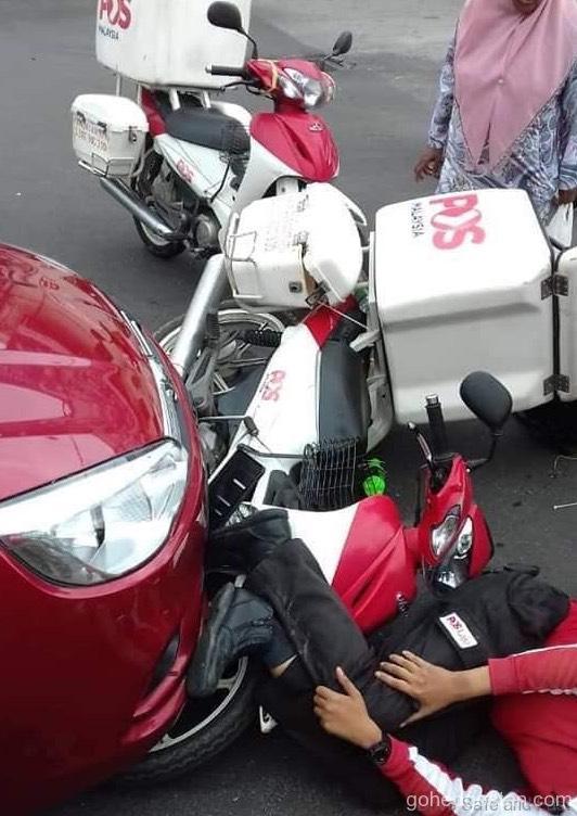 kemalangan postman 3