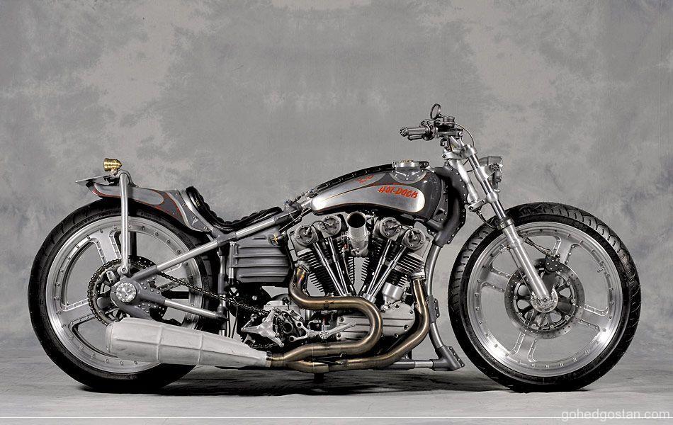 "1948 FL Harley-Davidson Custom ""StG Nautilus"" by HOT DOCK"