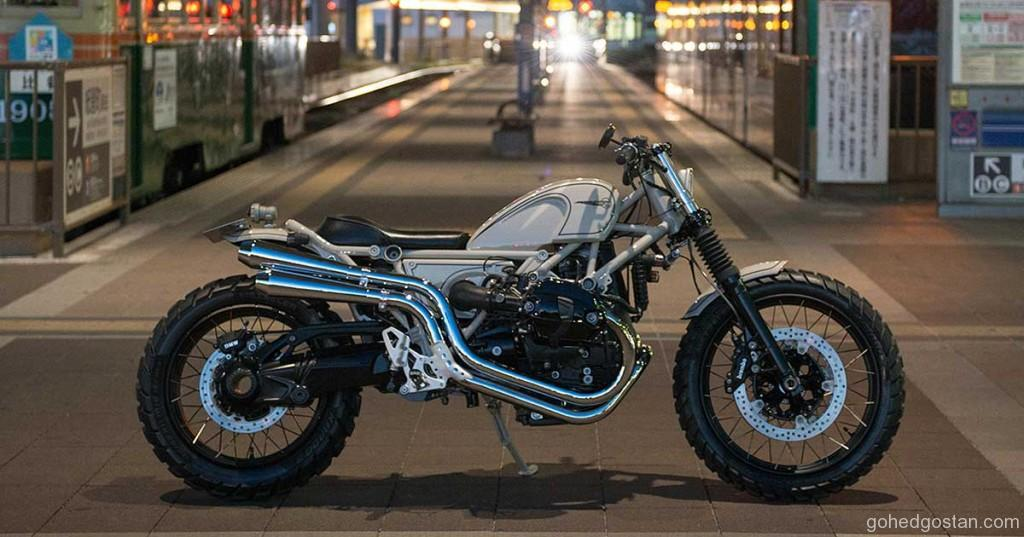BMW R9T Custom by Heiwa Motorcycles