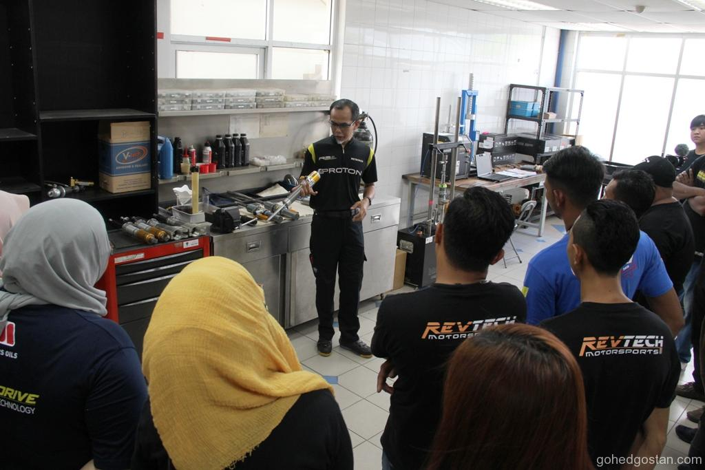 Briefing by Osman Jailani, Technical Head, PROTON R3.