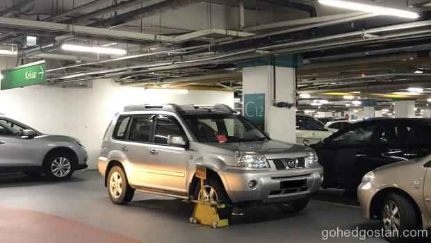 Clamped-Carpark-1