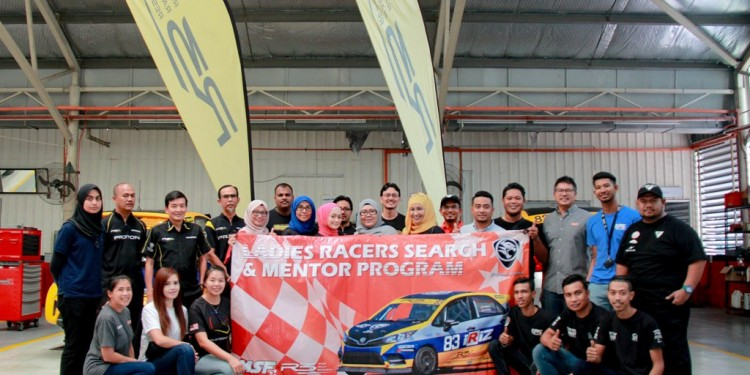 Lady racers search and mentor programme